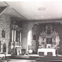 Zdzięcia - remont kościoła 1974 012
